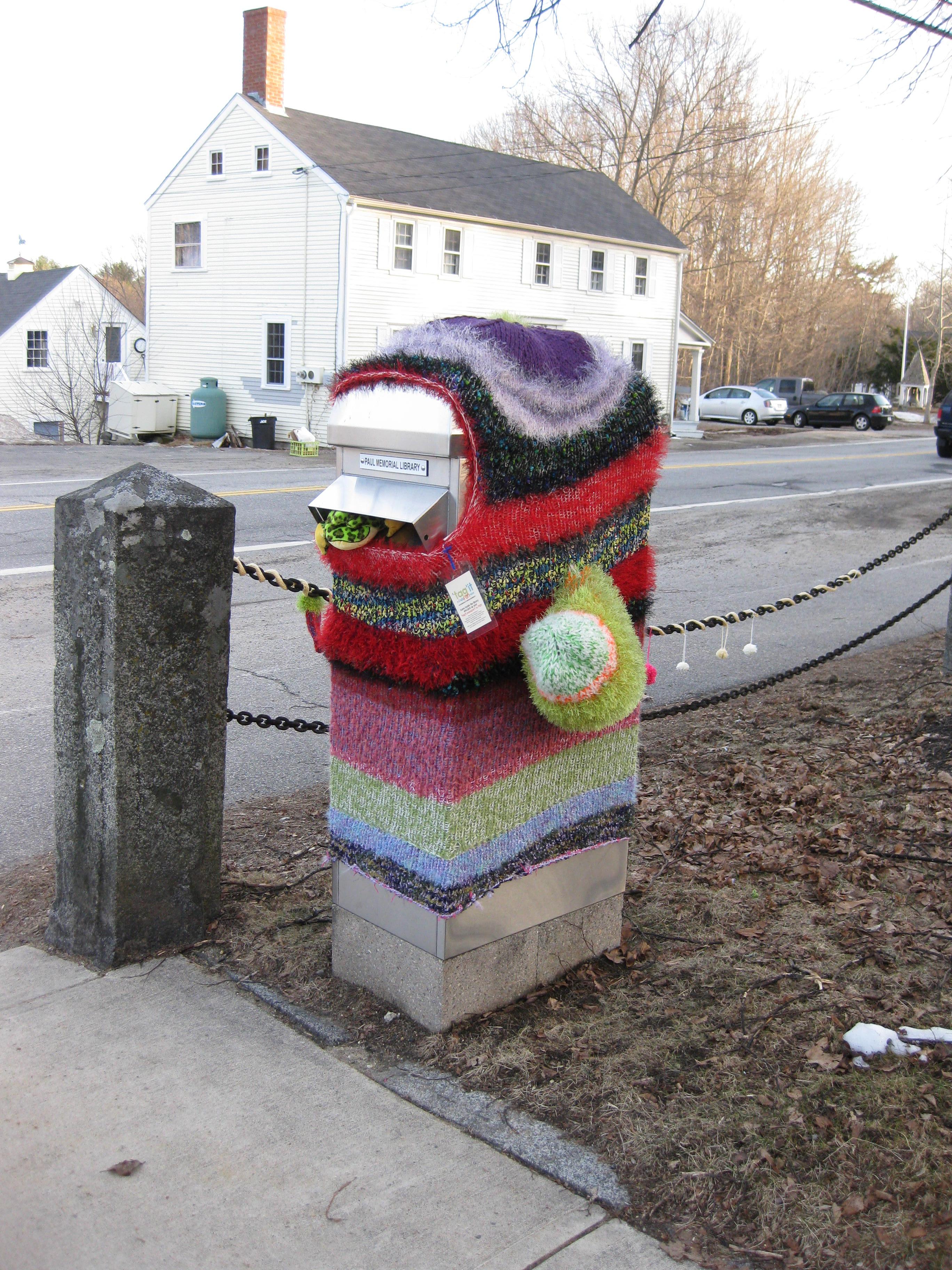 Knitting Graffiti Rocky : Paul memorial library the wonderful public in