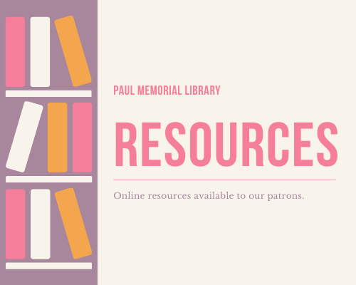 Paul Memorial Library Online Resources Page